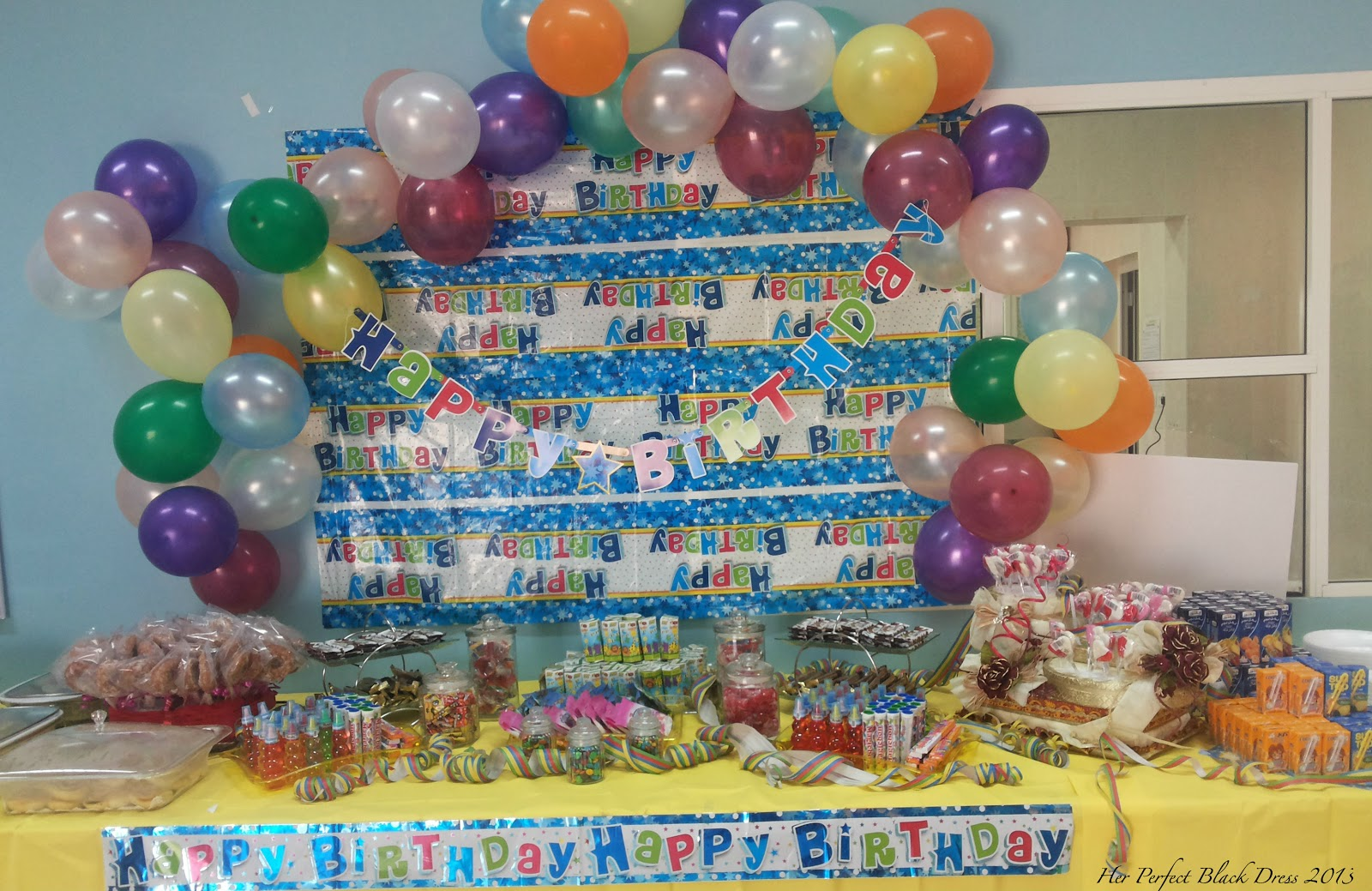 Wordless Wednesday; School Birthday Parties – Arabian Style