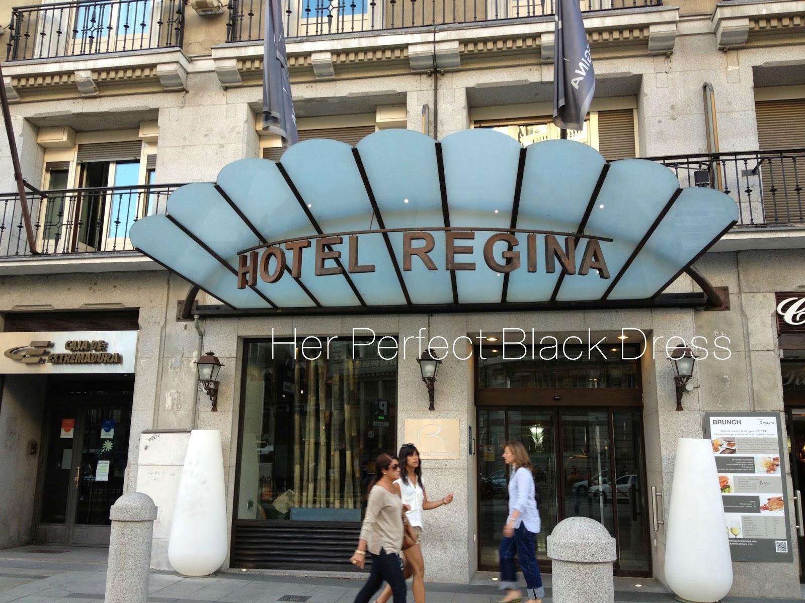Travel tuesday madrid spain reginia cordell for Hotel regina madrid opiniones